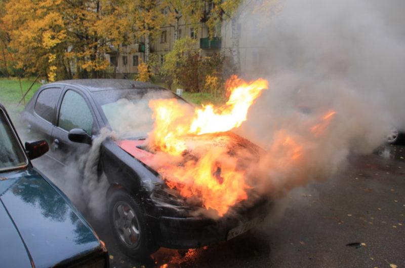 Наличие исправного огнетушителя может спасти жизнь!
