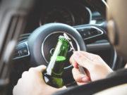 Алкоголь недопустим за рулем