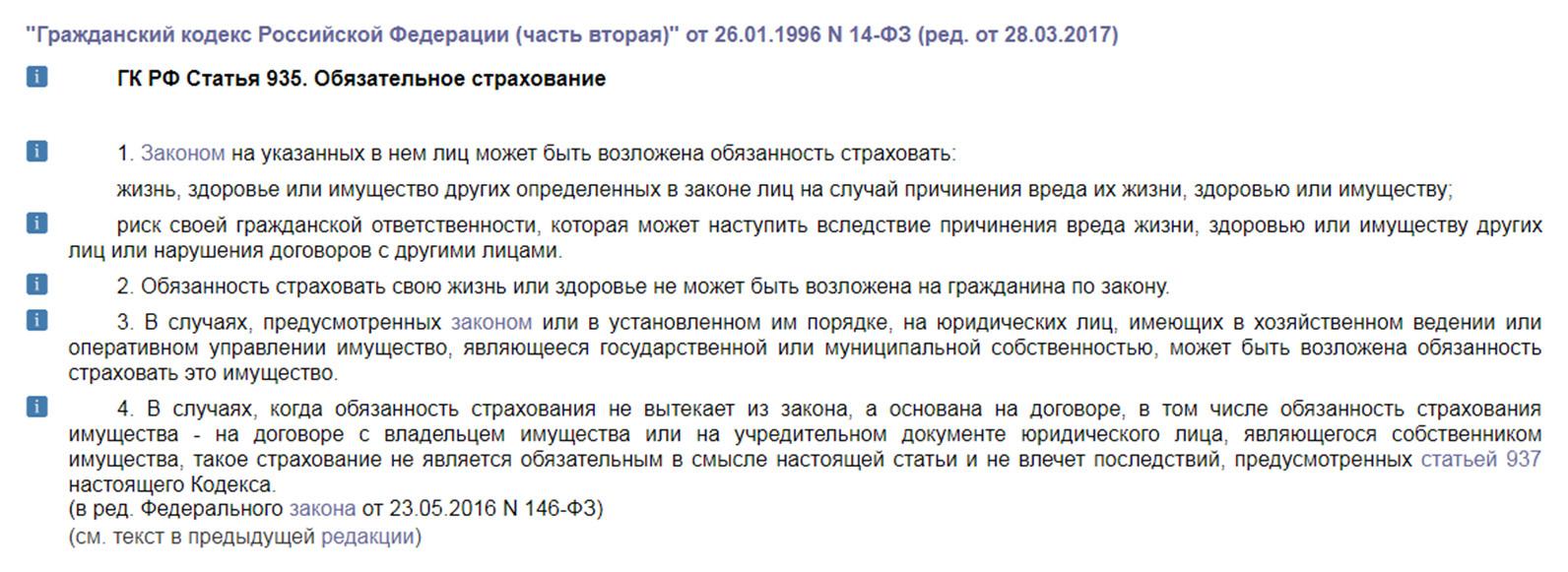 Текст статьи 395 Гражданского Кодекса России